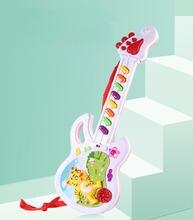 Игрушки для детей электрическая гитара музыкальная игра мальчик