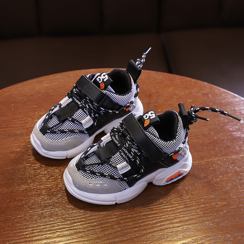 DIMI 2020 New Spring Kids Shoes Boys Girls Sport Shoes Fashion Breathable Light Baby Sneakers Soft Bottom Casual Children Shoes