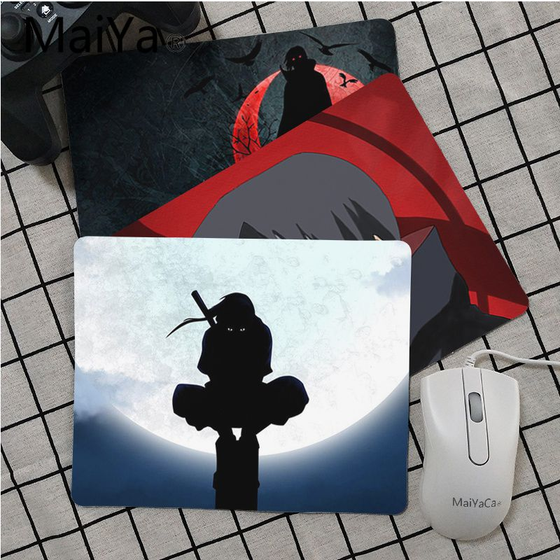 Maiya High Quality Naruto Itachi Anime Unique Desktop Pad Game Mousepad Top Selling Wholesale Gaming Pad mouse image