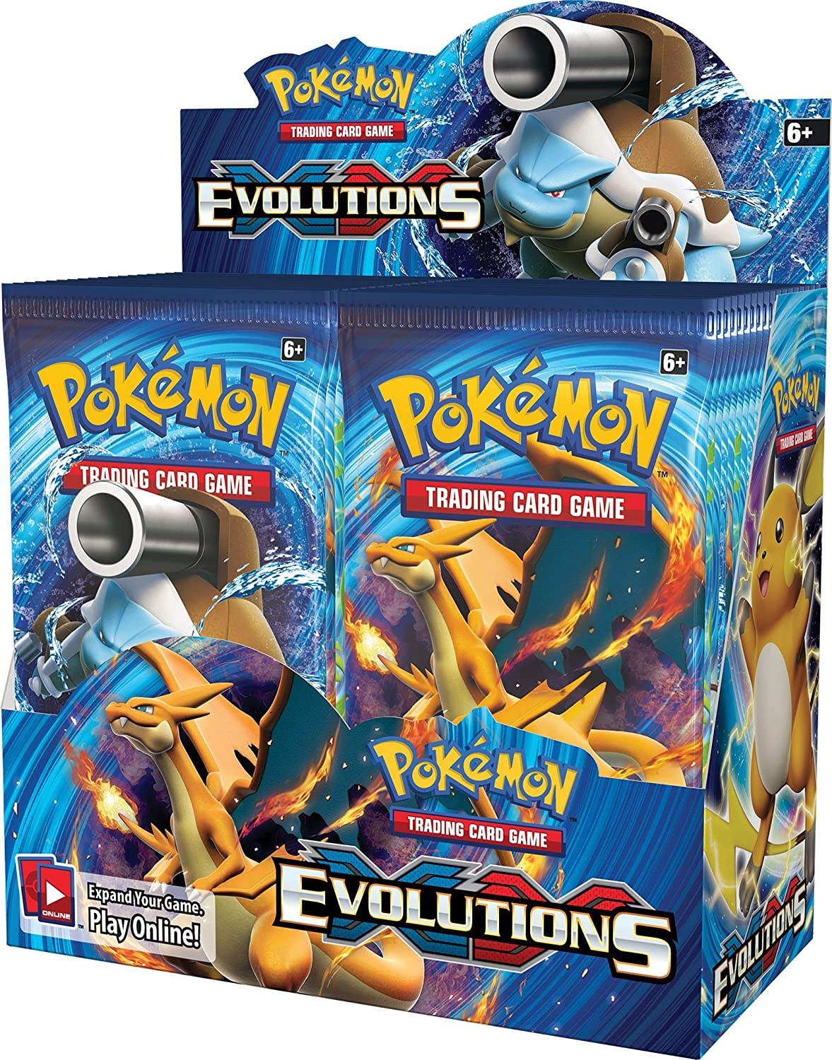 324Pcs Pokemon XY Evolutions English Cards Trade Game Card 36 Bags Collection Toys