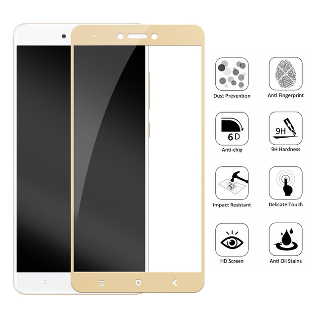 10D Protective Glass For Xiaomi Redmi Note 4 4X Global Version Screen Protector For Redmi 4X 4 Pro 4A Tempered Glass Film Case 2