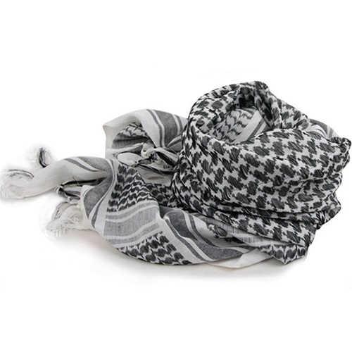 2019 Nuevo unisex ligero plaid nappe Tasselárabedesierto Shemagh keffiyah bufanda Wrap Pashmina regalo Di Natale