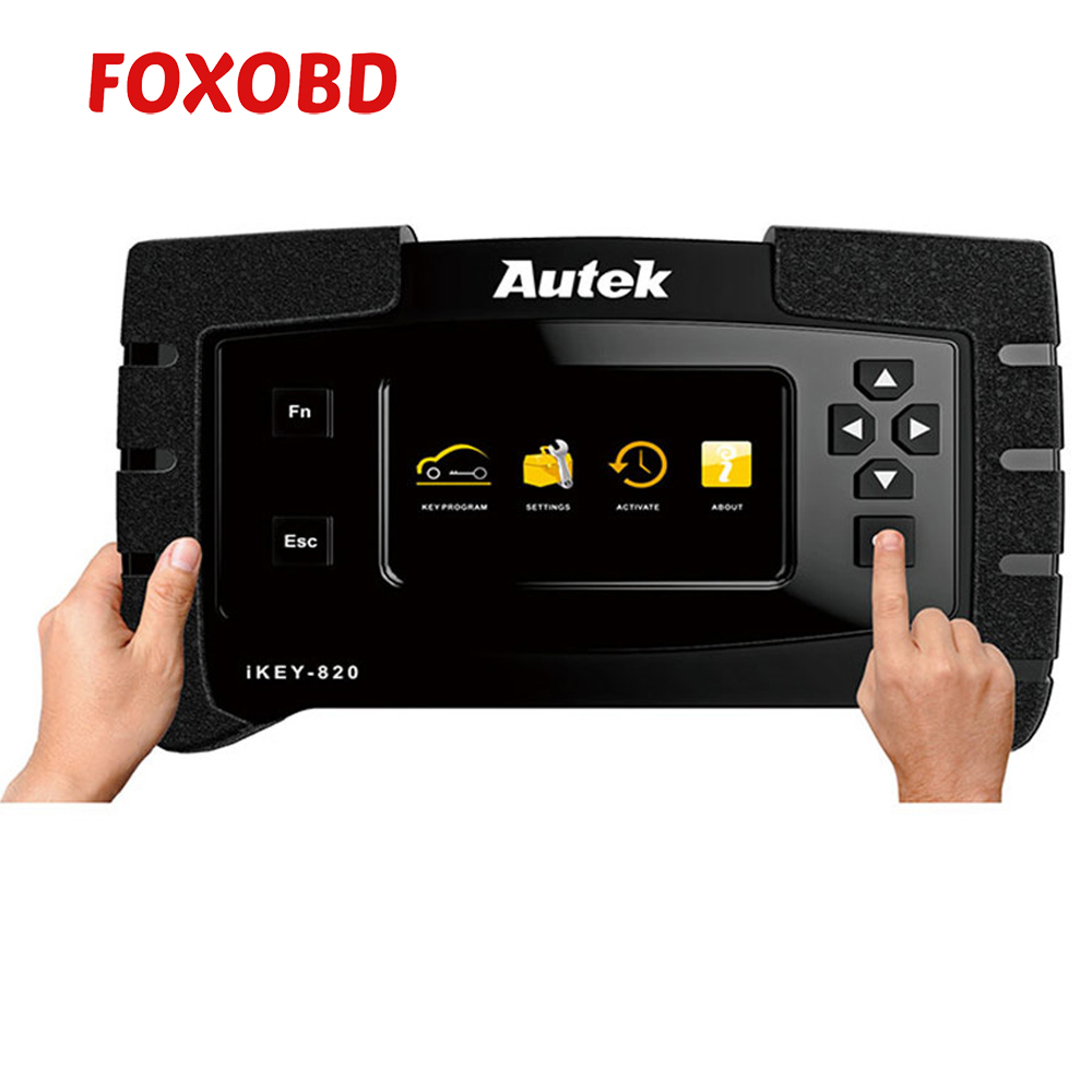 2019 Original Autek ikey820 Key Programmer Universal Tool Car Auto Scanner Key Programmer Read Immobilizer Pin-Codes