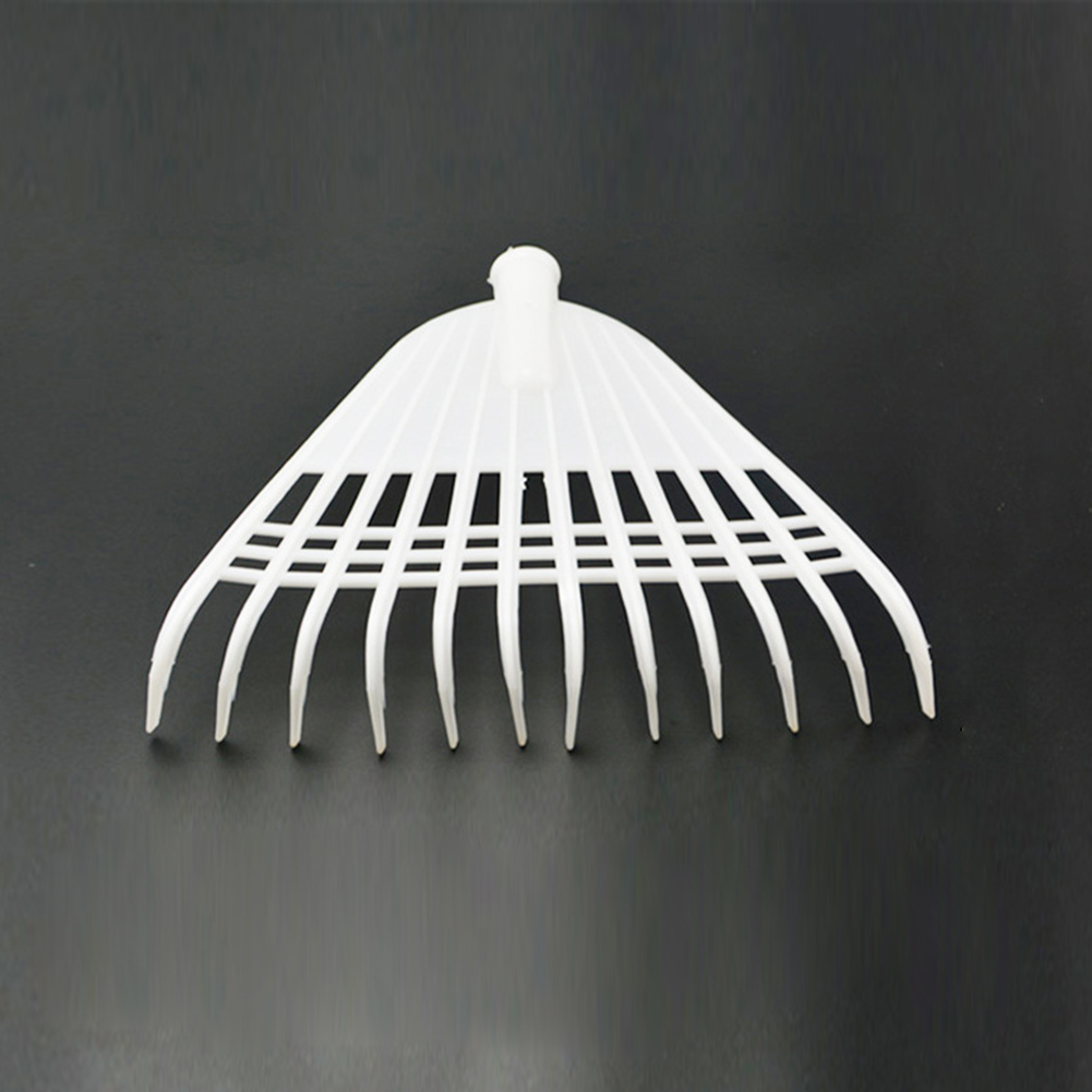 Hand Rake Leaf Cleaning Lawn Small Shrub Heavy Duty Working Grass Replacement Plastic Yard Claw Garden Tool