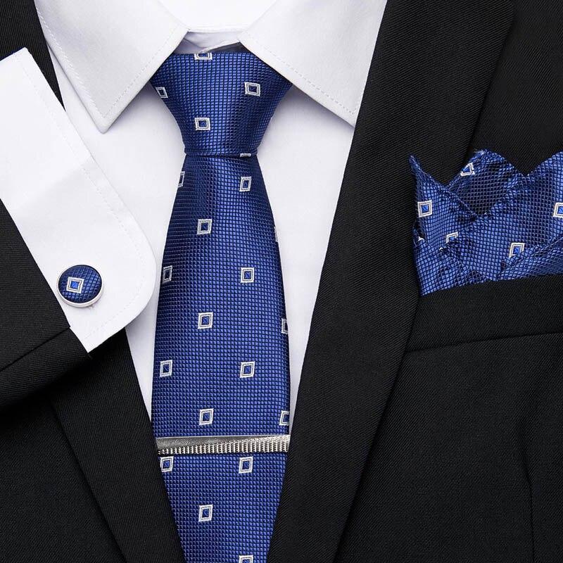 52 Styles Men's Ties Geometric Stripe Floral Necktie 7.5 Cm 100% Silk Jacquard Necktie Accessories Cravat Wedding Party Gift Tie