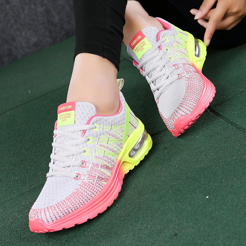 H9c8e3373936543b5b84321f8102462a3n - WENYUJHNew Platform Sneakers Shoes Breathable Casual Shoes Woman Fashion Height Increasing Ladies Shoes Plus Size 35-42
