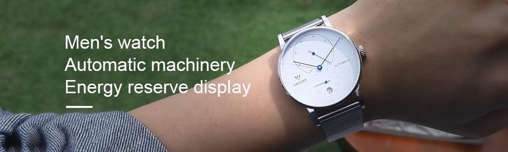 H9c8e354c0f2d44298dcca86d9a2c5b79j CADISEN Men Watch Automatic Mechanical Watches Role Date Week Top Luxury Brand Japan NH36A Wrist watch Clock Relogio Masculino