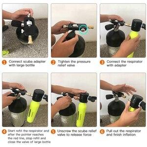 Image 5 - Paintball PCP York Refill Adapter HPA Scuba Füllen Station Stecker Bewertet für 300bar/4500psi