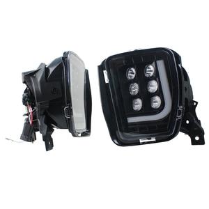 Image 3 - ไฟ LED หมอกกันชนขับรถพร้อม DRL สำหรับ Dodge Ram 1500 2013 2014 2015 2016 2017