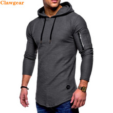 2019 New Clawgear Long Sleeve Casual Hoodie Autumn Street Slim Mens Tops  Fashion