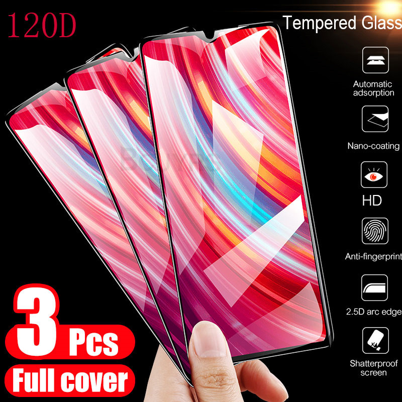 3Pcs Tempered Glass For Xiaomi Redmi Note 7 6 5 8 Pro 7 7A 6 Pro Screen Protector For Redmi 5 Plus K20 Pro Protective Glass Film