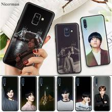 TPU Silicone Case Coque Cover Capa for Samsung Galaxy M10 M20 M30 M40 J4 J6 J8 Plus 2018 J4+ J6+ Kpop Kim V Taehyung Phone Shell
