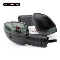 Para YAMAHA YZF R1 R6 R25 R3 XSR900 TDM900 XSR700 V-MAX 1700 luz de señal indicador de la lámpara accesorios de la motocicleta intermitente