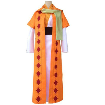 2016 Akatsuki no Yona COSplay Costume Yellow Dragon Warrior Zeno Cape Robe Suit From Yona Of The Dawn - buy at the price of $49.90 in aliexpress.com   imall.com