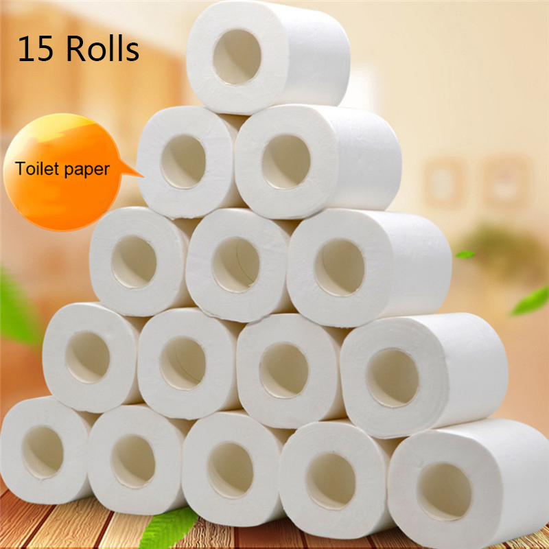 10/20/30 Rolls Toilet Paper Silky Smooth Soft Premium 4-Ply Toilet Paper Home Kitchen Enviro Friendly Recycled Toilet Tis