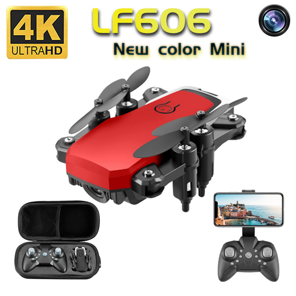 Mini Drone 4K Camera HD Foldable Drones One-Key Return FPV Quadcopter Follow Me RC Helicopter Quadrocopter Kid's Toys