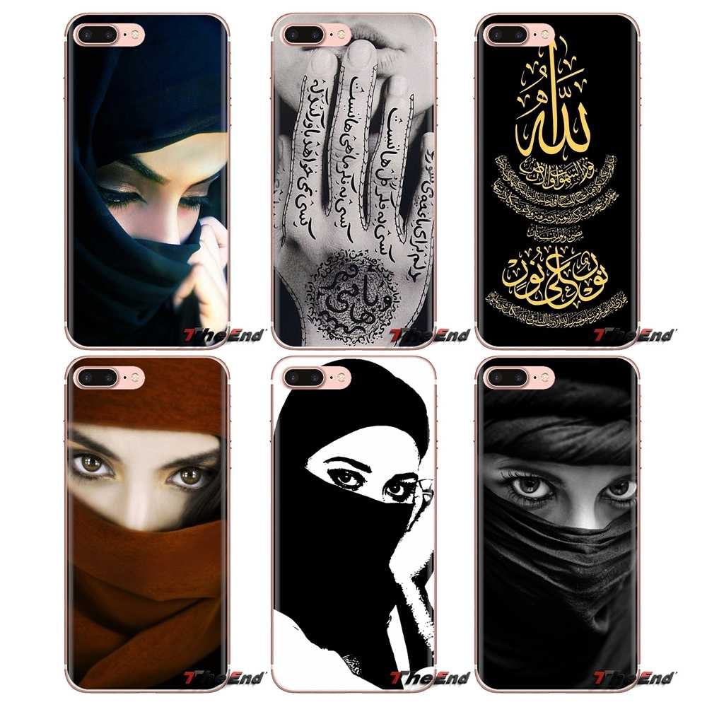 Chica musulmana al Islam suave transparente fundas para iPod Touch Apple iPhone 4 4S 5 5S SE 5C 6 6S 7 7 8 X XR XS Plus.
