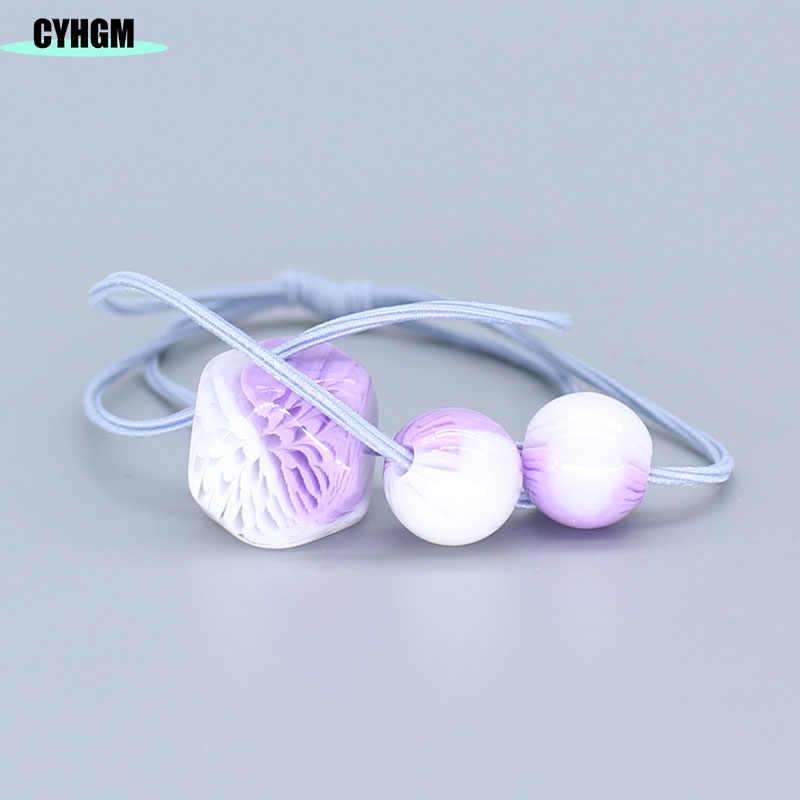 Elásticos faixas de cabelo meninas laços de cabelo veludo cetim scrunchie pacote cabelo acessórios femme durag navidad coles para el cabello F02-5