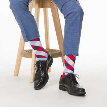SANZETTI 12 Pairs/Lot 2020 Newest Winter Warm Colorful Men\'s Casual Combed Cotton Happy Crew Socks Novelty Dress Wedding Socks