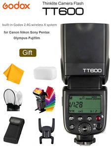 Godox Flash Speedlite Nikon TT600S Fujifilm Sony Master/slave-Camera Canon Pentax Wireless-Gn60