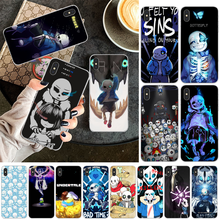 OFFeier undertale papyrus sa Coque Shell Telefon Fall für iPhone 11 pro XS MAX 8 7 6 6S Plus X 5 5S SE XR abdeckung(China)