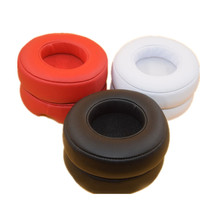 цена на A pair Replacement Ear Pads Earpads Cushions Cover for Monster Beats By Dr Dre PRO / DETOX Headphone Headset 90mm