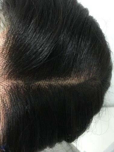 Apliques com cabelo humano Perucas Perucas Peruca