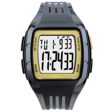 Sports Watches Fashion Stopwatch Outdoor Running Chronograph Countdown Night Light aterproof Unisex Digital Watch Military Clock black sport heart rate monitor digital watch for men women clock outdoor running sports alarm stopwatch watches with chest strap