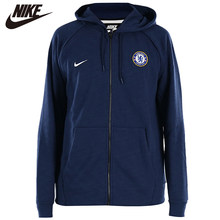 Originele NIKE Chelsea FC Windrunner Mens Jacket Hooded Sportkleding Jassen 919598-451(China)