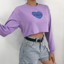 Fashion Early Autumn New Long-sleeved Streetwear O-neck Womens Clothing Ropa Adolescente Mujer De Oto O Invierno 2019