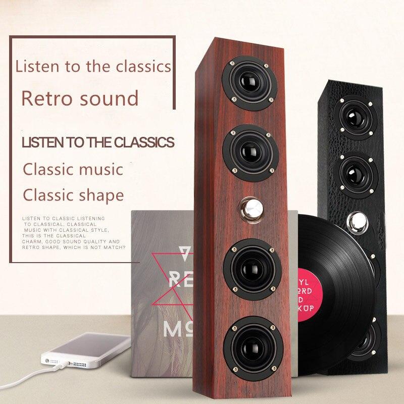 speaker laptop USB desktop subwoofer wooden sound home audio system theater caixa de som boombox sound bomb alto falante F4045