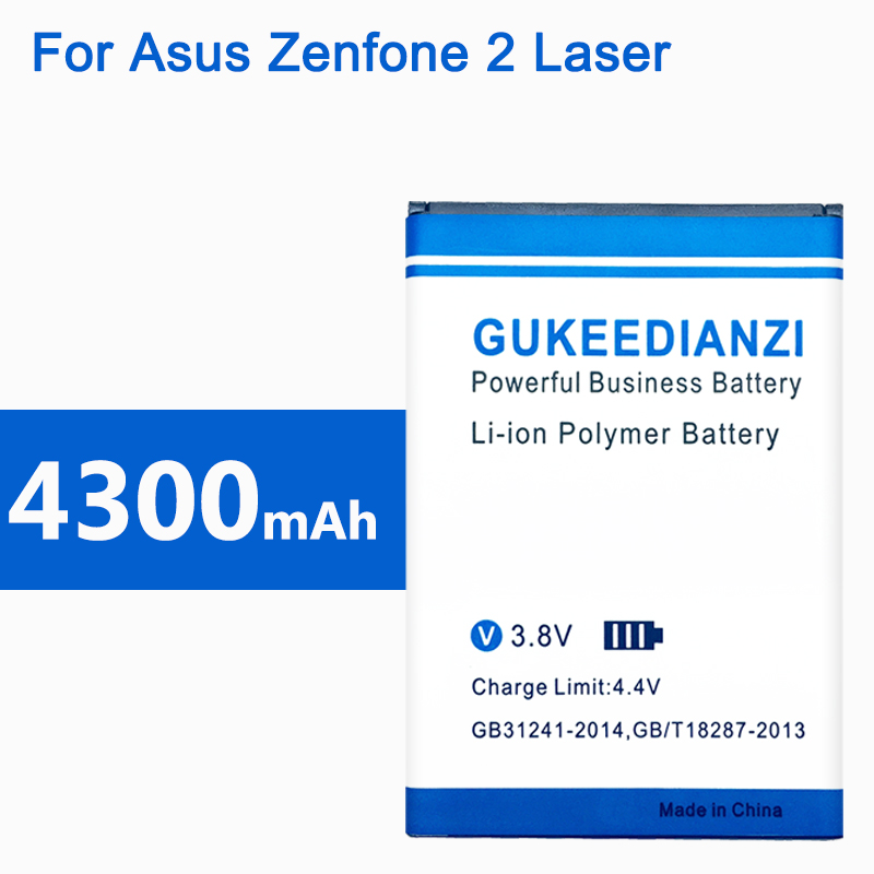 C11P1428 4300mAh 100% New Replacement Phone <font><b>Battery</b></font> <font><b>For</b></font> <font><b>Asus</b></font> <font><b>Zenfone</b></font> <font><b>2</b></font> <font><b>Laser</b></font> <font><b>ZE500KL</b></font> ZE500KG Lithium Polymer <font><b>Batteries</b></font> image