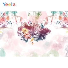 yeele wedding decor blossom flowers wall photophone baby portrait photographic background photography backdrops for photo studio Yeele Backdrops for Photography Backgrounds Smoke Flowers Light Bokeh Baby Photographic Photo Studio Props Photophone for Video