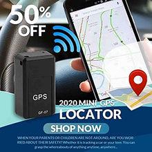 Mini localizador GPS magnético para coche, dispositivo de seguimiento en tiempo Real, GSM, GPRS, para niños, triangulación de envíos