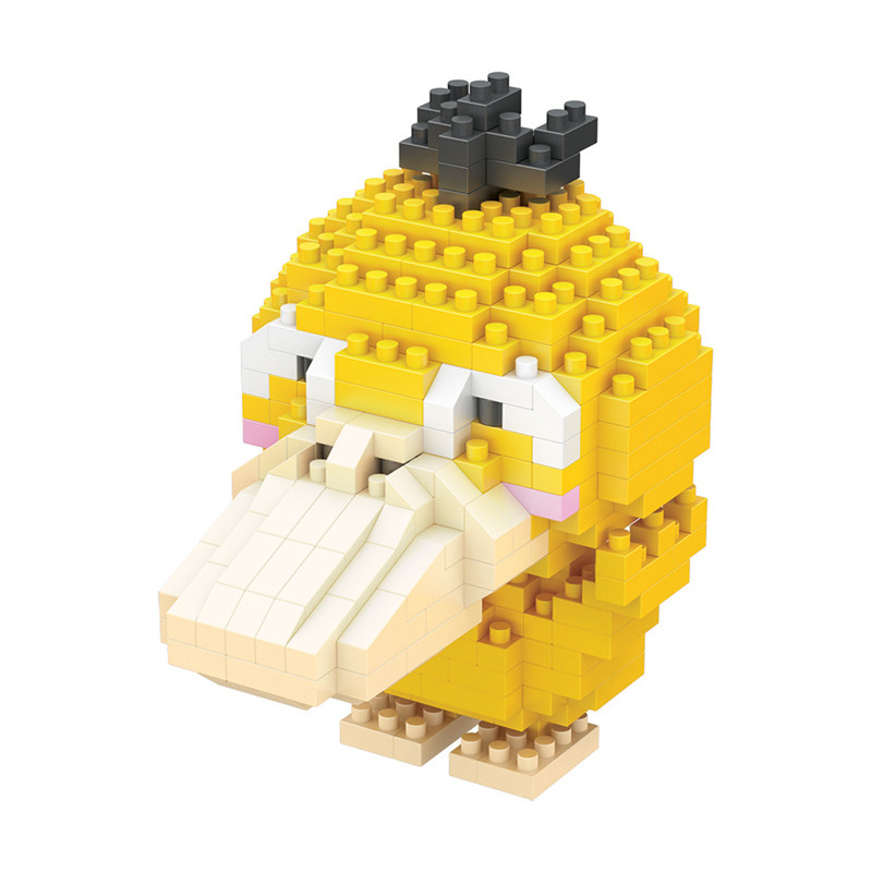 Pokemon Building Blocks Anime Figures Assembling Plastic Abs Diy Toys Creative Educational Model Toys for Children Boxed New 4