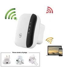 Wireless-N Wifi Repeater 802.11N/B/G Network Routers 300Mbps Range Expander Signal Amplifier Booster WIFI Ap Wps Encryption vrp300 plus wifi repeater 802 11n b g network 300mbps wifi routers range expander signal booster extender wifi ap wps encryptio