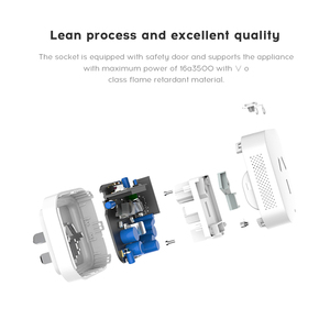 Image 2 - AQARA Multi Function Gateway Smart Socket 16A App Remote Control Electricity Monitoring Smart Switch Socket Work for Xiaomi app
