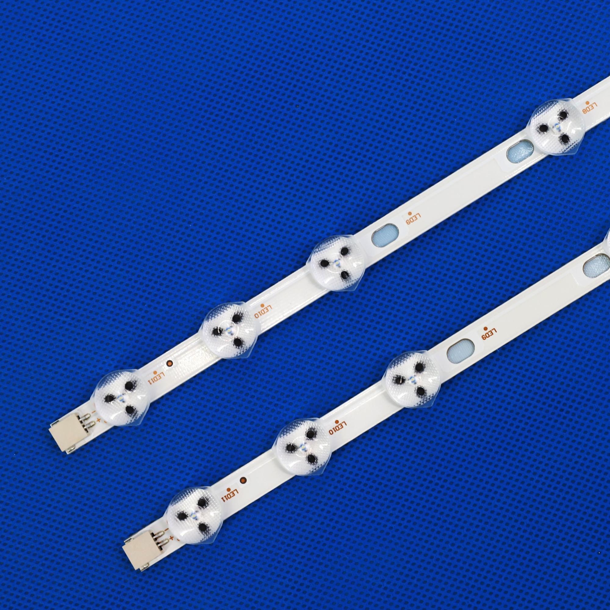 32 polegada led backlight strip substituição para vestel 32d1334db VES315WNDL-01 VES315WNDS-2D-R02 VES315WNDA-01 11-leds 575mm