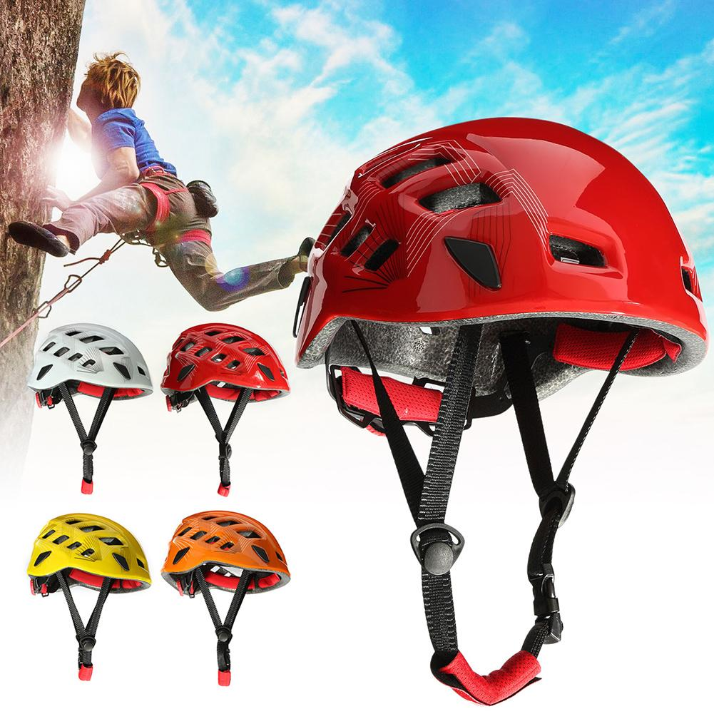 Safety Rock Climbing Downhill Caving Rappelling Rescue Helmet Head Protector|Helmets| |  - title=