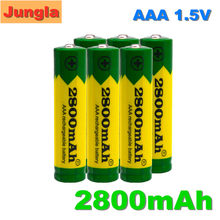 2020 PCS 2-20 Bateria Alcalina AAA 2800 MAH 1.5 V AAA bateria recarregável para o Brinquedo de Controle Remoto Bateria Luz Da Bateria
