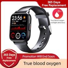 Reloj inteligente deportivo para hombre y mujer, pulsera con control del ritmo cardíaco y de la presión sanguínea, resistente al agua, para IOS, Android y Xiaomi, nuevo de 2021