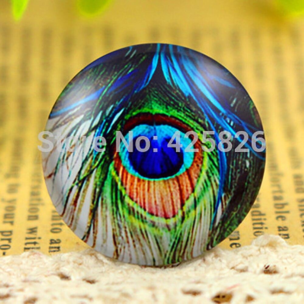 Hot Sale 5pcs/Lot 25mm Handmade Photo Glass Cabochons (Color Patterns) F3-21