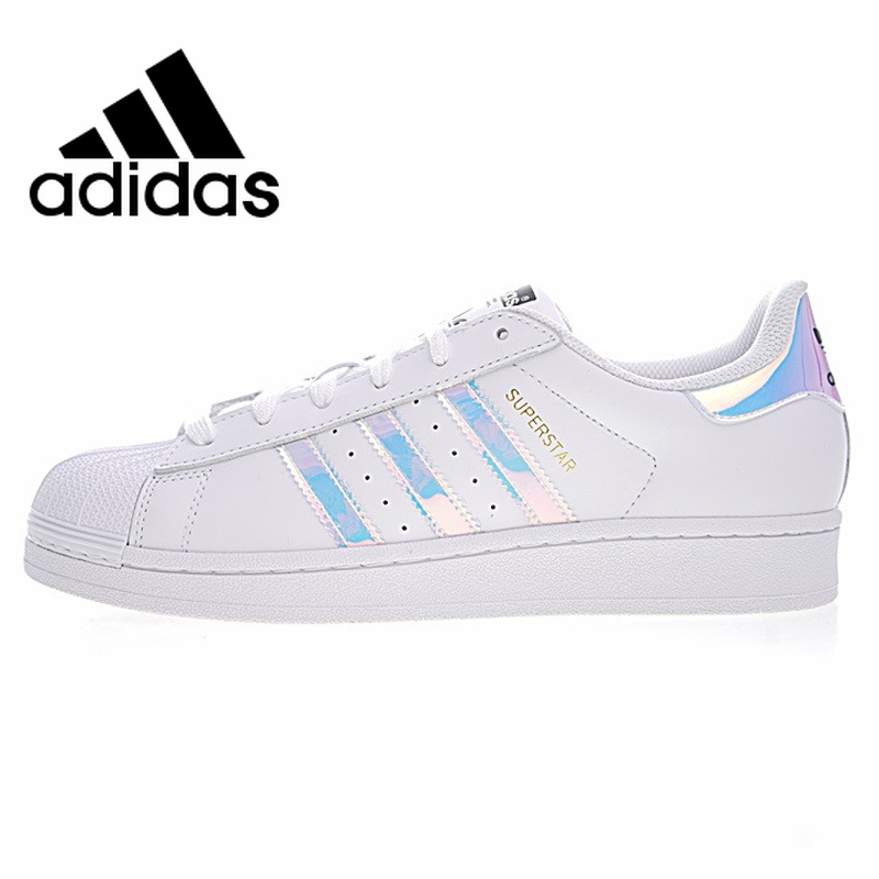 <font><b>Adidas</b></font> Superstar Men and <font><b>Women</b></font> Skateboarding Shoes Outdoor Sports Designer White Flat Wearable Lightweight Breathable AQ6278 image