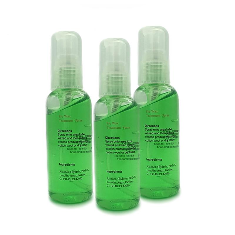 Smooth Body Hair Removal Spray PRE & After Wax Treatment Spray Liquid Hair Removal Remover Waxing Sprayer 5