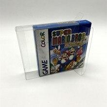 Caja de protección para juegos de mascotas, versión europea y americana de GB GBC game Boy