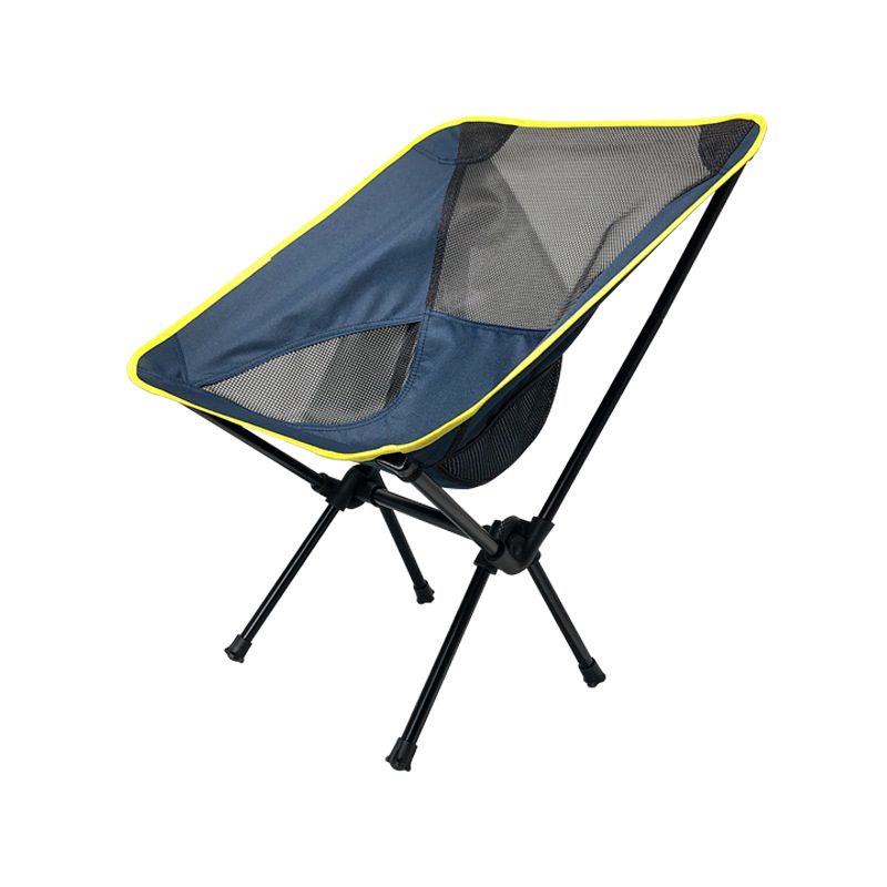 Outdoor Supplies Amazon Hot Selling Portable Folding Chairs Beach Chair Camping Fishing Club Chairs Casual Moon Chair