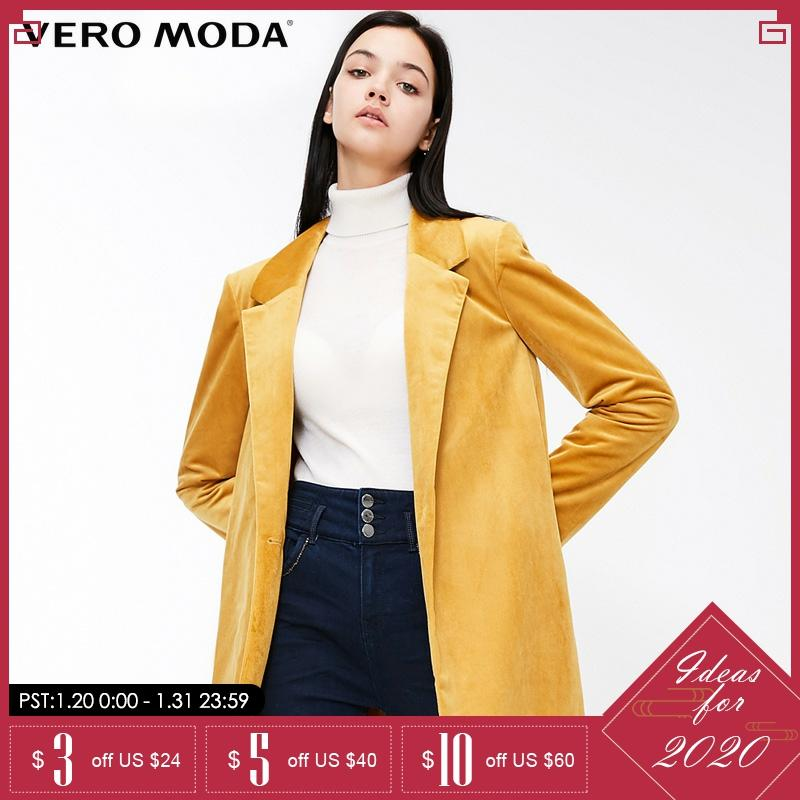 Vero Moda Lapel Collar Long Sleeve Loose Coat Jackets | 318408504