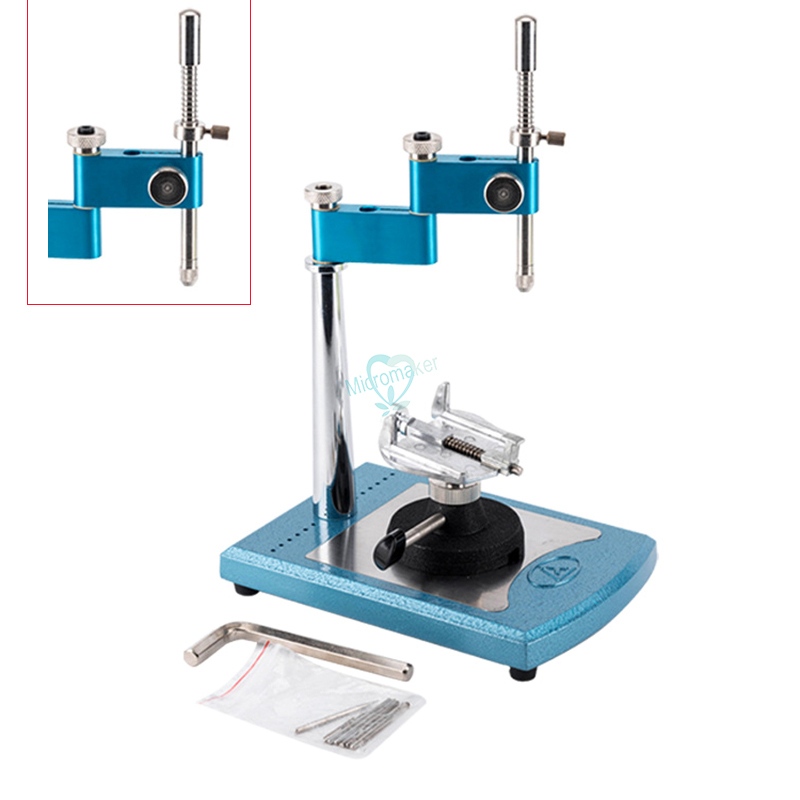 1 juego de equipo de laboratorio Dental portátil Simple topógrafo con 7 Uds. Husillos intercambiables conectados