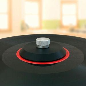 Image 4 - Прочный стальной виниловый шарнирный диск LP, стабилизатор, Противоударная запись, вес/зажим
