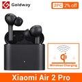 Neue Xiaomi Air 2 Pro TWS Bluetooth Airdots 2 Pro Mi Wahre Drahtlose Kopfhörer Umwelt Geräuschunterdrückung Earbuds 3 MIC ENC